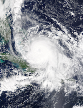 Hurricane Joaquin, 2015, image courtesy of NASA